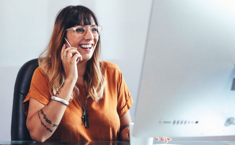 Employee wellbeing support on the phone